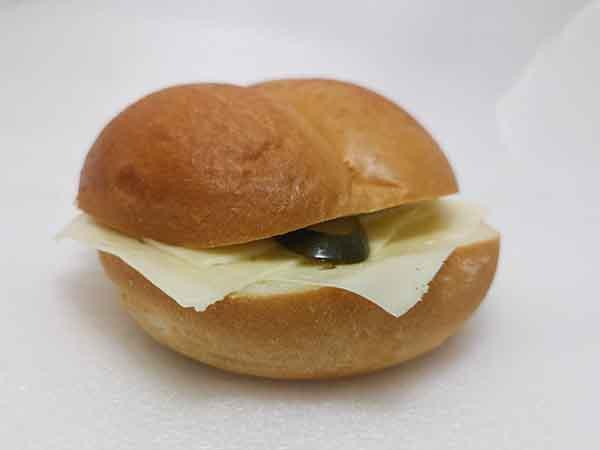 Big-Semmel mit Käse gross