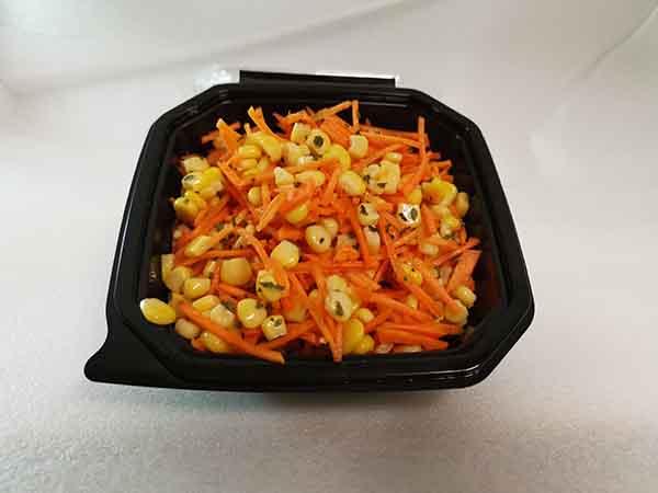 Karotten-Mais-Salat & Petersilie (vegan) klein