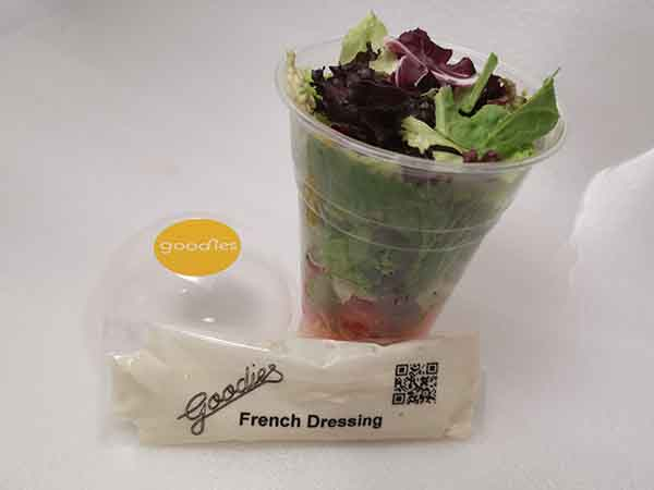 Shaker-Salat mit French-Dressing