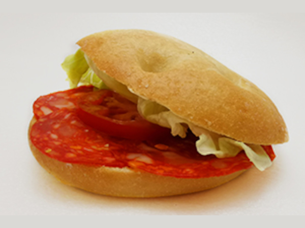 focaccia chorizo goodies retail sandwich